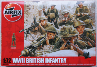 Airfix 1/72 AX00763 British Infantry (WW2)